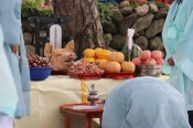 Haksan Seonangje: the altar