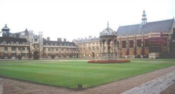 Trinity College Cambridge, which hosted the Adoptee conference