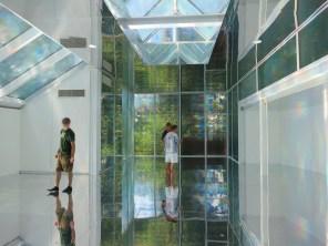 Inside the Korean Pavilion. Kimsooja's installation To Breathe: Bottari (2013)