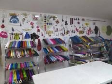In the Ssamzisarang showroom and workshop, Insadong