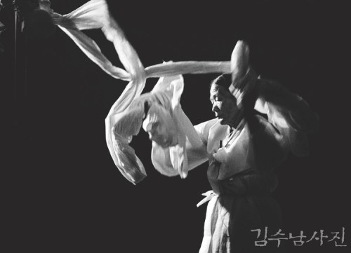 Shaman portrait by Kim Soo-nam
