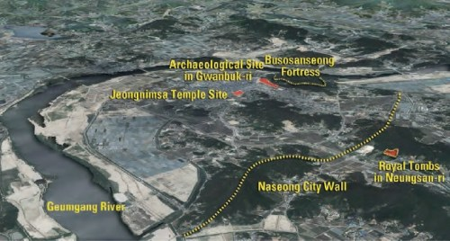 The location of the ancient city of Sabi