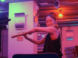 Kim Hyelim performing Korean court music at Club Inégales