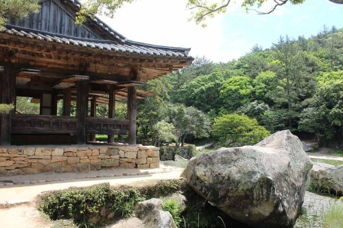 The Seyeonjeong pavilion and Satuam