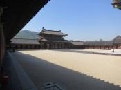 The main palace courtyard