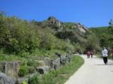 Hikers on Hwangmaesan