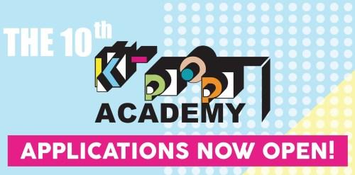 K-pop academy banner