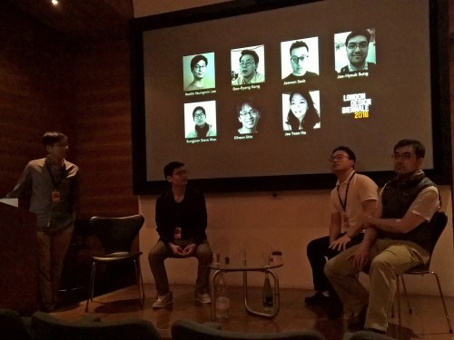 Team Korea talk about their work