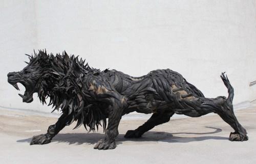 Ji Yong Ho: Lion 7, (2015)