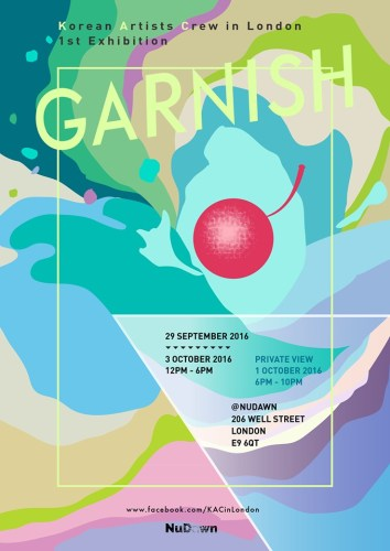 Garnish poster