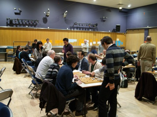 A previous year's tournament