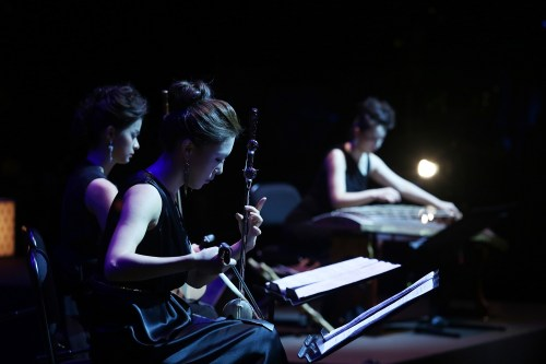 Members of the Contemporary Gugak Orchestra