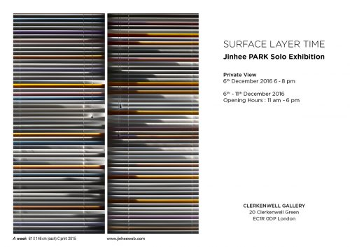 Featured image for post: Exhibition news: Jinhee Park — Surface Layer Time, at Clerkenwell Gallery