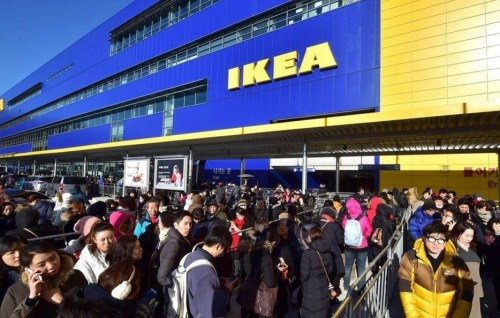 IKEA's store in Gwangmyeon, Gyeonggi-do