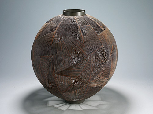 Cheon Woo-seon: Jar with Cracks 0115m (2015)
