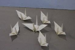 Soon Yul Kang (강순열) DREAM…1000 paper cranes (2016)