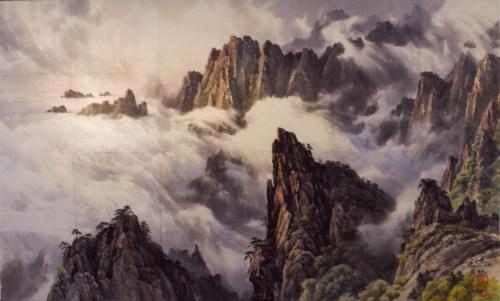 Choe Kye Geun: Mt. Kumgang