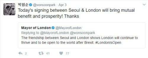 Mayors Tweets