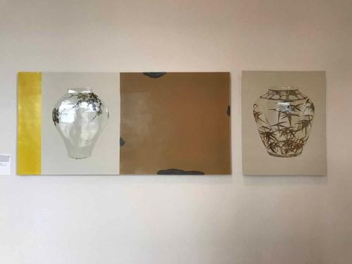 Lee Seunghee: Tao series (2016). Porcelain, underglaze iron brown