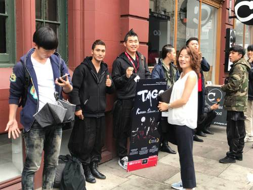 Team TAGO queuing up to support Ensemble SU