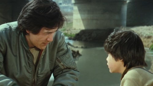 Father begins to bond with son