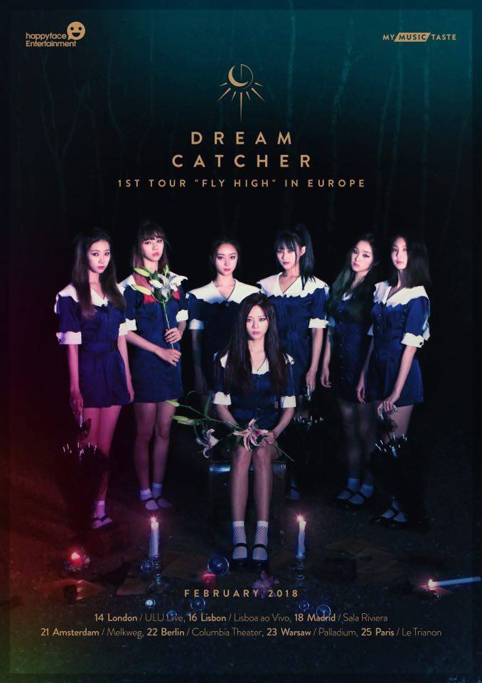 Event News Dreamcatcher Plays ULU Live London Korean Links Simple Dream Catcher Memoir