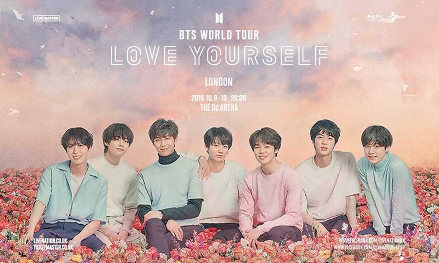 Bts Love Yourself World Tour In London London Korean Links