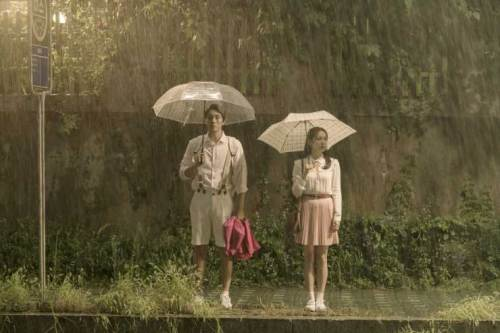 Be With You: Umbrella scene