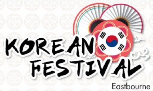Korean festival logo