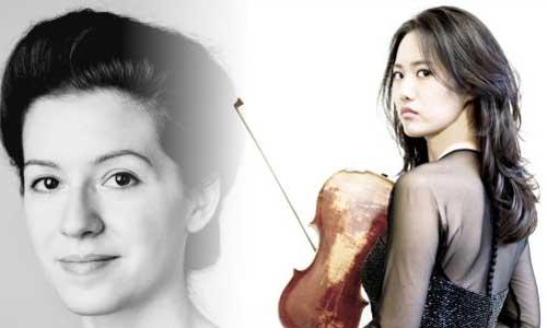 Ninfea Cruttwell-Reade and Joo Yeon Sir