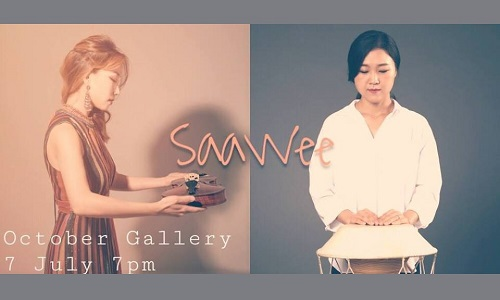 SaaWee Korean Rhythm Project at October Gallery | London