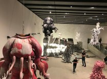 Lee Bul - Crashing. Installation view