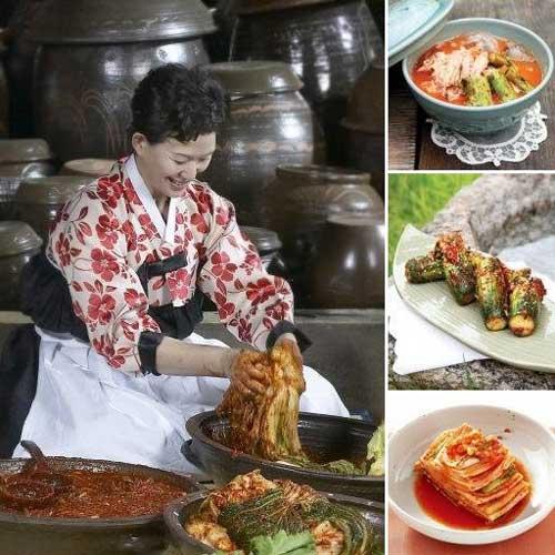 Kimchi making with Hayeon Lee