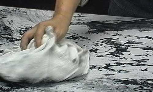 Kim Ku Lim, Wiping Cloth, 1974