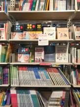 Foyles Korean language section