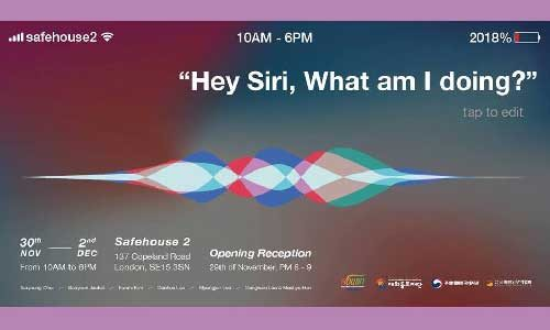 Featured image for post: Exhibition: Hey Siri, What am I doing?
