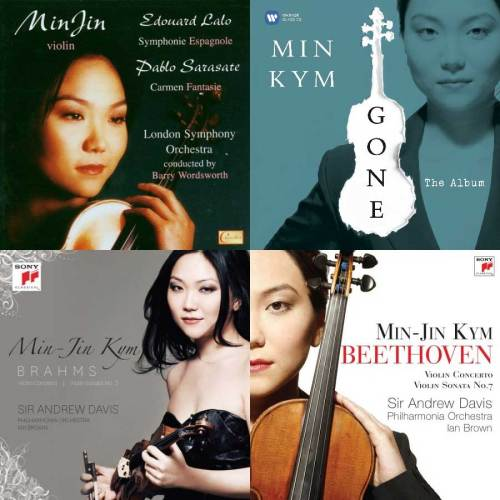 Min Jin Kym CD discography