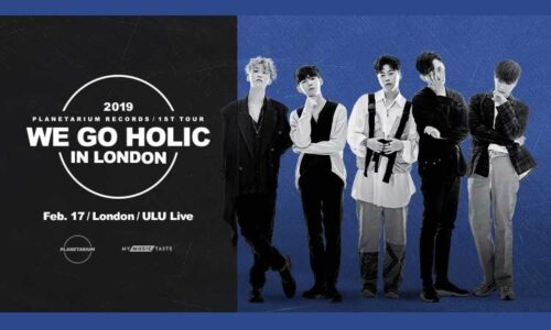 "Featured image for post: PLT 1st Tour ""We Go Holic"" in London"