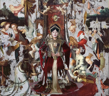 Bae Chan-hyo: Jumping into, The Virgin and Child Enthroned