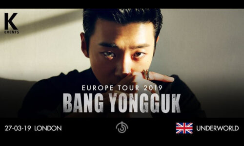 Featured image for post: Bang Yongguk plays the The Underworld, Camden