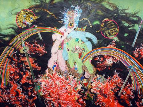 Hyon Gyon, Flame, 2010