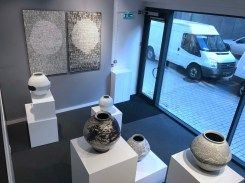 Installation view at 4 Masons Yard