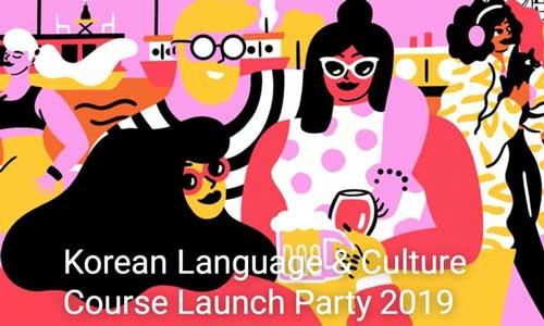 Korean Language + Culture Course Launch Party