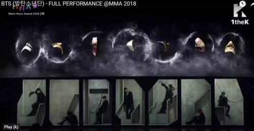BTS at MMA 2018