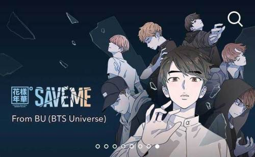 BTS Universe - Save Me graphic