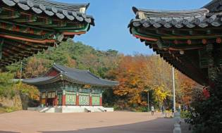 Taeeulam temple on Baekhwasan, Taeangun