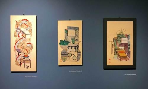 Chaekgado folk paintings