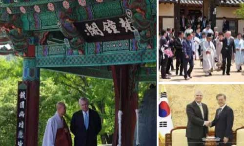 Prince Andrew in Korea