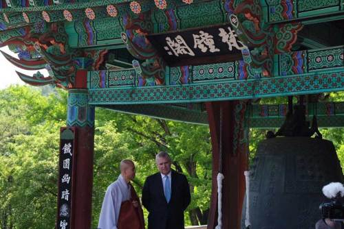 The Duke of York at Bongjeongsa