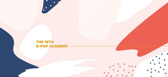 16th K-pop Academy banner